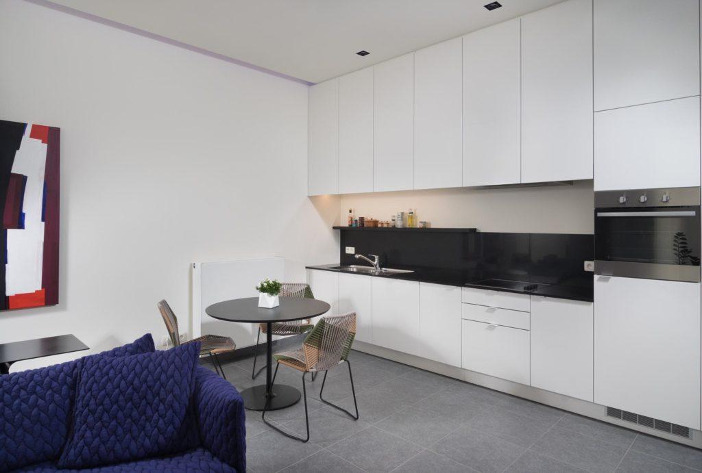 Witte keuken op maat gemaakt